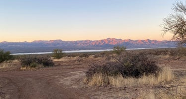 Tonto National Forest Dispersed Camping at Lake Roosevelt