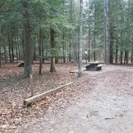 Typical camp site