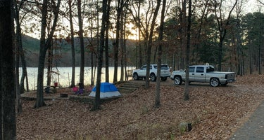 Ozark National Forest Cove Lake Campground