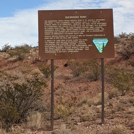 Scenic byway info