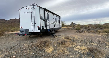 Box Wash Dispersed Camping