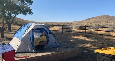 KCL Campground Carrizo Plains NM