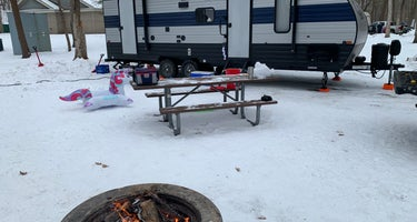 Lake Michigan Campground at Muskegon State Park