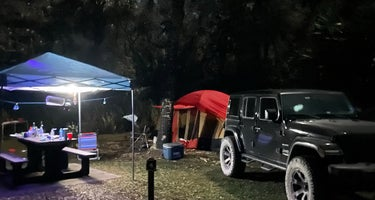 Pink Jeep Campground