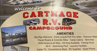 Carthage RV campground