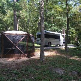 Huge campsites