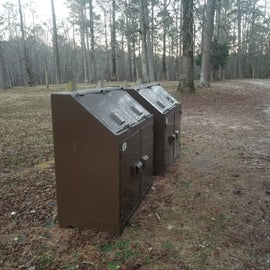 Critter proof trash bins