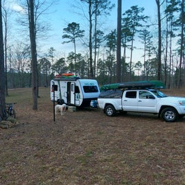 East Side primitive camping