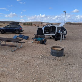 The site. Nothing special for amenities!