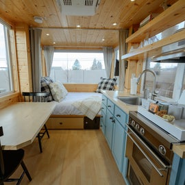 Interior of The Cottage Tiny House