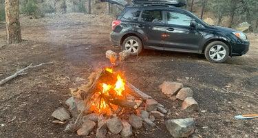 Prescott Basin Dispersed Camping