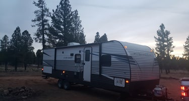Forest service Road 688 Dispersed Camping