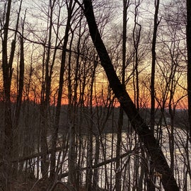 Great sunsets in the winter!