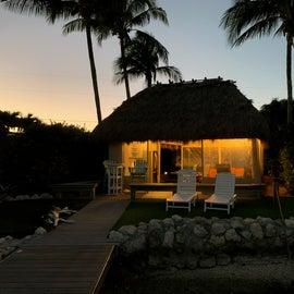 Cabana on the site