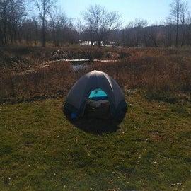 solo tent site