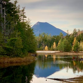 View from Elbow Pond in Baxter