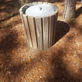 Typical Site Trash Bin