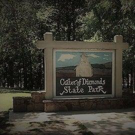 Crater of Diamonds State Park in Murfreesboro, AR