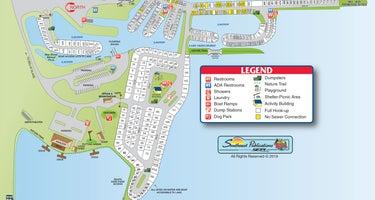 Belle Glade Marina Campgroundo o