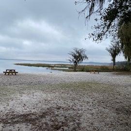 Beach at the lake.