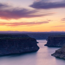 Mt. Hood and Lake Billy Chinook, Copyrighted by Christian Murillo Photography
