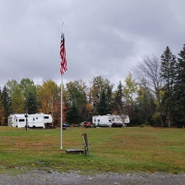 Open field area. Per the map, the center is for tents, perimeter for RV