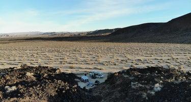 Indian Springs near lava field