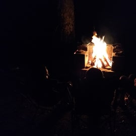 Woodland Valley Campground firepit