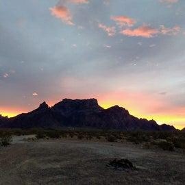 Kofa NWR sunrise