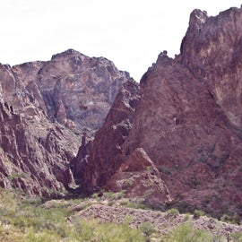 Entrance to Palm Canyon