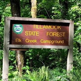 Elk Creek Campground.