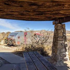 Gorgeous picnic shelters!