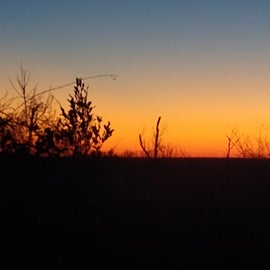 Great sunsets from campground