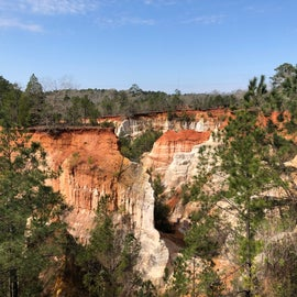 Our visit to Providence Canyon - 8 miles from campground.