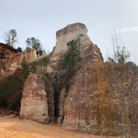 Our visit to Providence Canyon - 8 miles from campground.  This was in Canyon #5