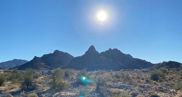 Craggy Wash - Dispersed Camping Area