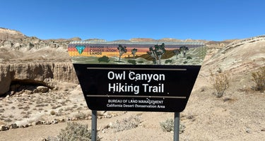 Owl Canyon Campground