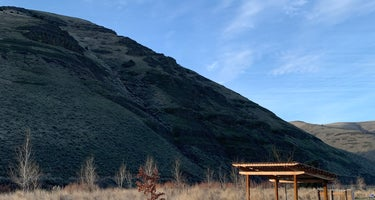 Lone Tree Campground - Cottonwood Canyon State Park