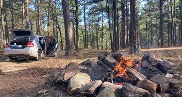 Dead Man Gap Dispersed Campsite