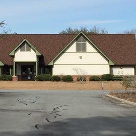 Visitor Center where you register