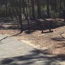 Large group camping area.  Boy Scouts used it when we where there in March.