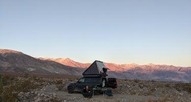 Saline Valley Dispersed Camping