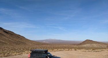 Mojave Preserve - Piute Range Dispersed Camping