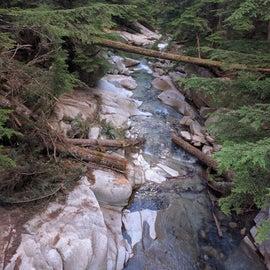 Great short hiking around the campground