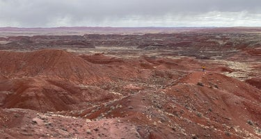 Petrified Forest National Park Dispersed Camping