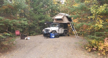 Two Island Lake Campground