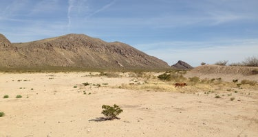 Fort Bliss Army Range dispersed camping