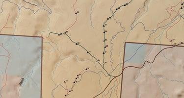 Hurricane Cliffs BLM dispersed #13-#19 spur