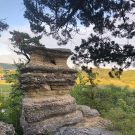 Nearby Pulpit Rock