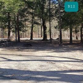 Hopeville Pond CG Site B12